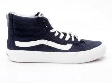 Vans Sk8-Hi Slim Zip VN-0 XH8GKV Scotchgard blau