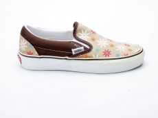 Vans Classic Slip-On VN-0 EYE2A7 In Bloom braun