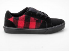 Vans Widow Vulc VN-0 KX73Z6 Plaid schwarz