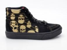 Vans Sk8-Hi Multi Skull VN-0 D5IAVA schwarz-gold