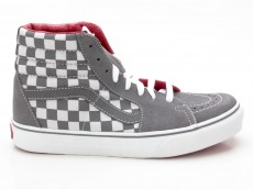 Vans Sk8-Hi VN-0 D5C366 Checkerboard grau-weiß