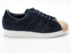 Adidas Originals Superstar 80s Cork W Sneaker BY2963 schwarz-weiß-braun
