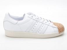 Adidas Originals Superstar 80s Cork W Sneaker BA7605 weiß-braun