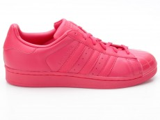 Adidas Superstar Glossy Toe W S76724 rot