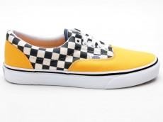Vans Era 2-Tone Check VN0A38FRMV3 gelb-weiß-schwarz
