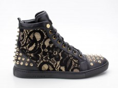 Philipp Plein FW14 SW153085 Sneaker Celebration schwarz-gold