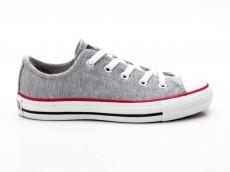 Converse Chuck Taylor CT Sweatshirt 1U455 grau-rot-schwarz