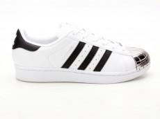 Adidas Superstar Metal Toe BB5114 weiß-schwarz-silber