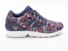 Adidas ZX Flux W S76595 Blumen blau