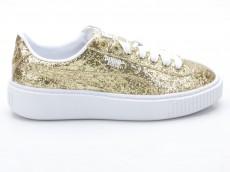 Puma Basket Platform Glitter Wn's 364093 02 gold