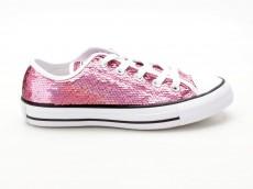 Converse Chuck Taylor  All Star CTAS OX 553438C pink-weiß-schwarz