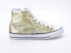 Converse Chuck Taylor  All Star CTAS HI 553439C gold-weiß-schwarz