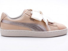 Puma Basket Heart Up Wn's 364955 01 beige-gold