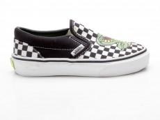 Vans Classic Slip-On CobraChexPrnt 5855574 schwarz-weiß-grün