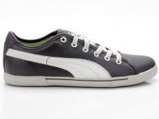 Puma Benecio Leather 351038 03 schwarz-braun-silber-beige
