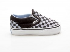 Vans Classic Slip-On Small Checkerboard 5858071 schwarz-blau