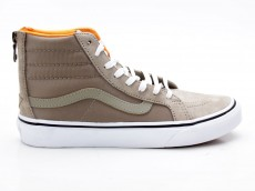 Vans Sk8-Hi Slim Zip VN0A38GROC8 beige-orange