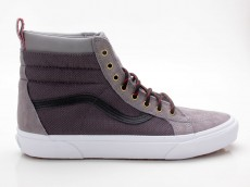 Vans SK8-Hi MTE Winter Sneaker Schuhe VN0A33TXOGS grau-weiß