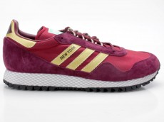 Adidas New York CQ2486 rot-gold