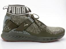 Puma IGNITE evoKNIT Hypernature 190337 01 olive-weiß