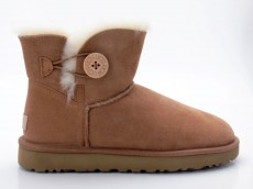 UGG W Mini Bailey Button II 1016422 W braun