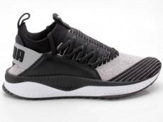 Puma TSUGI Jun 365489 03 grau-schwarz-weiß
