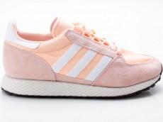 Adidas Forest Grove W Damen Sneaker Turnschuhe Retro B37990 pink-weiß-schwarz