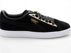Puma Suede Jewel Metalic WN's 366725 01 schwarz-gold