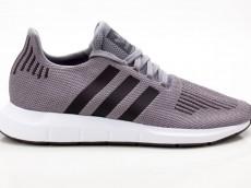 Adidas Swift Run CQ2115 grau-schwarz-weiß