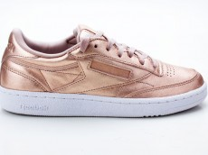 Reebok Club C 85 Melted Metal Women BS7899 rose-weiß