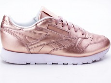 Reebok CL LTHR Melted Metal Women BS7897 rose-weiß