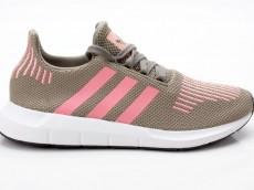 Adidas Swift Run W Sneaker Damenschuhe CG4142 grün-pink-weiß