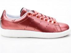 Adidas Stan Smith Boost W Originals Damen Sneaker Retro Schuhe BB0107 bronze-weiß