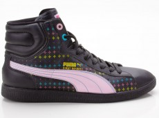Puma First Round Rainbow Star Jr 349545 02 schwarz-pink-blau