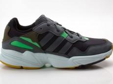 Adidas Yung-96 Herren Sneaker F35018 schwarz-blau-grün-braun