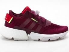 Adidas POD-S3.1 W Damen Turnschuhe Schuhe DB3541 rot-weiß