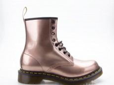Dr. Martens Doc Martens 8-Loch 1460 Vegan Chrome Paint rose-gold Docs