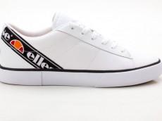 Ellesse Massimo TEXT AF Damen Sneaker Canvas Turnschuhe weiß