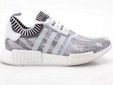 Adidas NMD_R1 PK Schuhe Unisex Originals Sneaker BY1911 weiß-schwarz