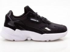 Adidas Falcon W B28129 Damen Sneaker Turnschuhe Sportschuhe schwarz-weiß