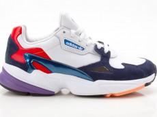 Adidas Falcon W CG6246 Damen Sneaker Turnschuhe Sportschuhe weiß-blau