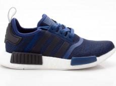 Adidas NMD_R1 Schuhe Herren Originals Sneaker BY2775 blau-schwarz-weiß