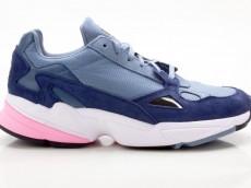 Adidas Falcon W D96699 Damen Sneaker Turnschuhe Sportschuhe blau-grau-pink