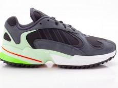 Adidas Yung-1 Trail Herren Sneaker EE6538 grau-schwarz-grün