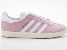 Adidas Gazelle W Originals Damen Sneaker Retro BY9352 pink-weiß
