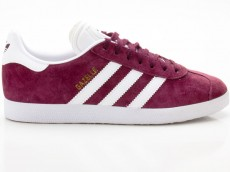 Adidas Gazelle Originals Damen Sneaker Retro BB5255 rot-weiß