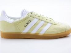 Adidas Gazelle Originals Damen Sneaker Retro BB5499 gelb-weiß