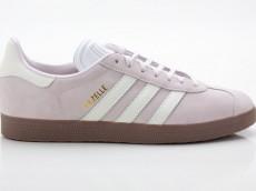 Adidas Gazelle W Originals Damen Sneaker Retro CQ2177 pink-weiß-braun