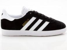 Adidas Gazelle Originals Unisex Sneaker Retro BB5476 schwarz-weiß-gold