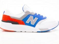 New Balance CM997HZJ Sneaker Herren Schuhe weiß-blau